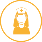 Telephone Advice Nurse Icon mango